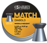 Diabolo JSB MATCH 500 ks cal.4,5mm