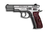 CZ 75 B 9mm Luger, stainless steel (povrch. úprava NEW EDITION)