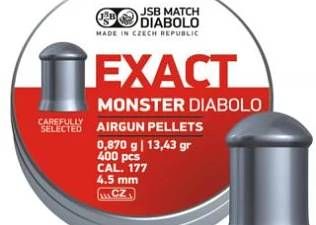 Diabolo JSB Exact Monster 400ks cal.4,5mm