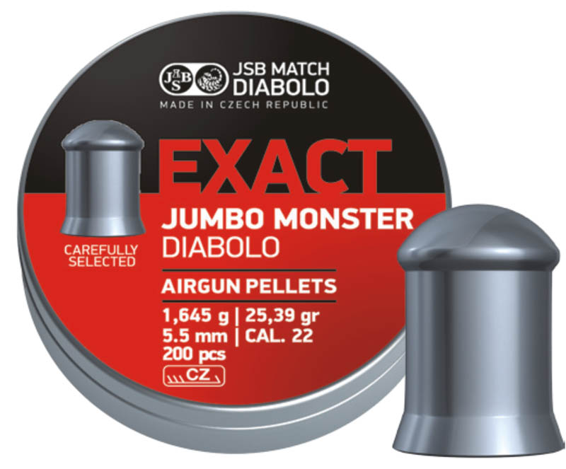 Diabolo JSB Exact JUMBO MONSTER 200ks cal.5,5mm